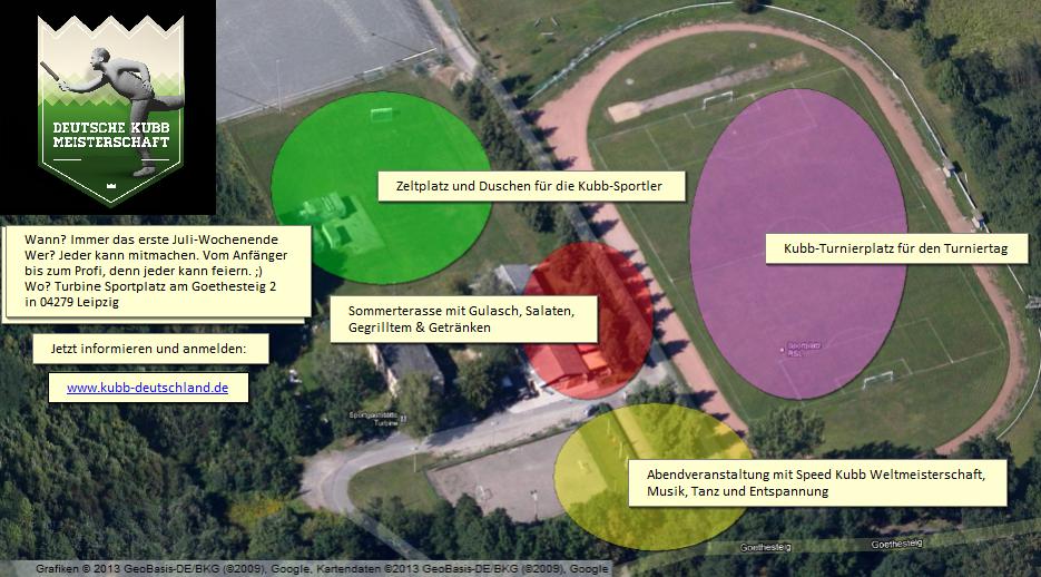 Übersichtskarte Wikingerschach-Kubb-Deutsche- Meisterschaft