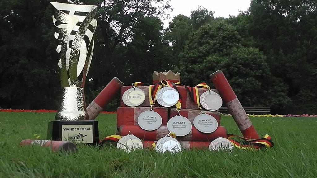 Kubb Pokale & Wikingerschach Medaillien - Deutsche Kubb Wikingerschach Meisterschaft