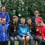 Siegerpodium Deutsche Kubb Meisterschaft 2013