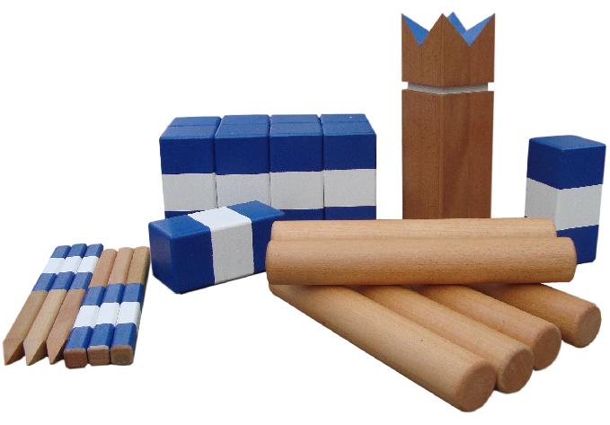 offizielles kubb spiel der deutschen kubbmeisterschaften kaufen. Black Bedroom Furniture Sets. Home Design Ideas