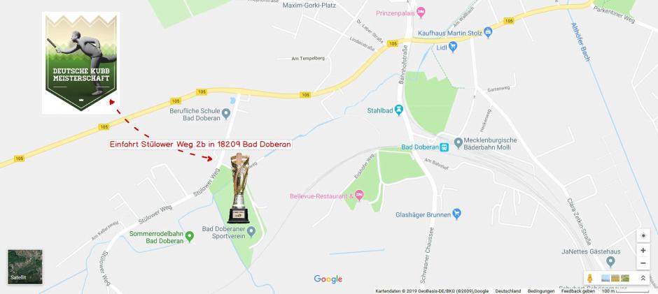 Deutsche Kubb Meisterschaft Anfahrt